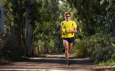 Fototapeta Running Man w przyrodzie
