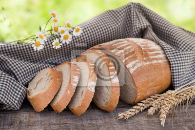 Fototapeta Rustikales Brot