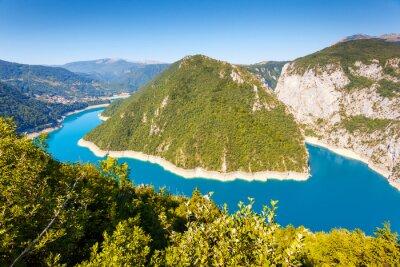 Fototapeta Rzeka Piva w Czarnogórze