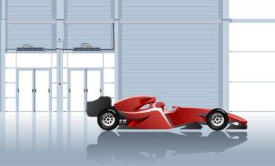 Fototapeta samochód sportowy