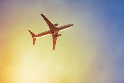 Fototapeta Samolot słońca