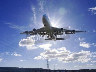 Fototapeta Samolot startu