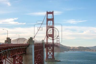 Fototapeta San Francisco landmark - Most Golden Gate