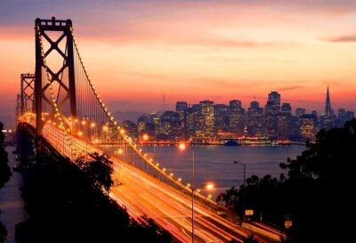 Fototapeta San Francisco Sunset