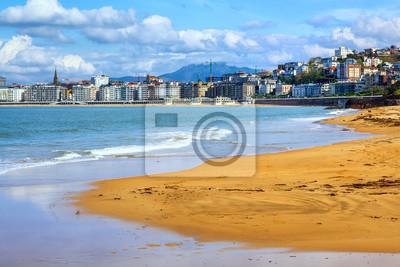 Fototapeta San Sebastian - Donostia, Hiszpania, Kraj Basków