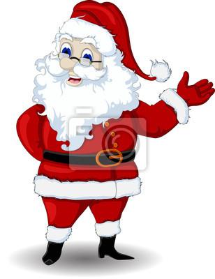 Fototapeta Santa Claus cartoon dla Ciebie projekt