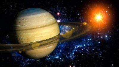 Fototapeta Saturn