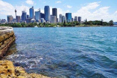 Fototapeta Scenic widok na centrum Sydney skyline z portu