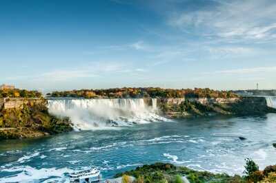 Fototapeta Scenic widok z Niagara Falls jesienią
