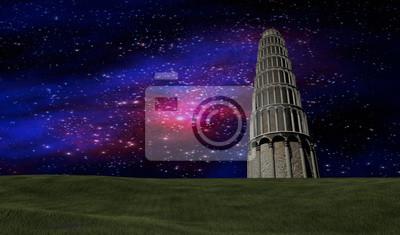 Fototapeta Sceny nocne niebo gwiazdek