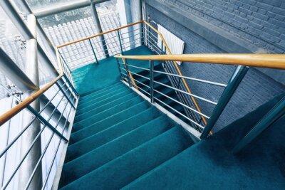 Fototapeta schody w budynkach