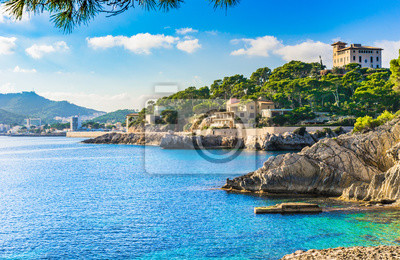 Fototapeta Seaside Cala Ratjada Majorka Hiszpania
