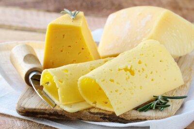 Fototapeta serów różnych rodzajów sera na przystawkę