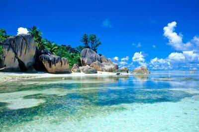 Fototapeta Seychelles beach