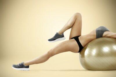 Fototapeta siłownia