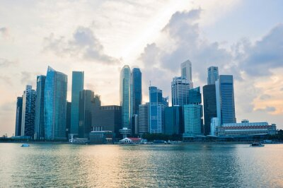 Fototapeta Singapore firma cener