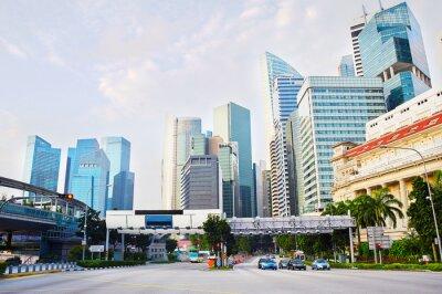 Fototapeta Singapur biznesowej dzielnicy