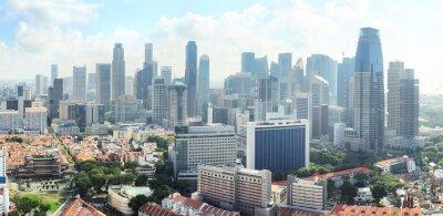 Fototapeta Singapur skyline