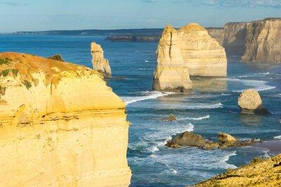 Fototapeta Skały Dwunastu Apostołów wzdłuż wybrzeży australijskiego