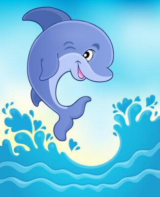 Fototapeta Skoki delfinów theme image 6