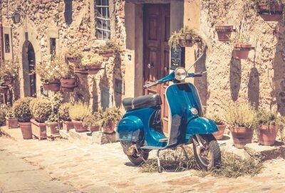 Fototapeta Skuter w Toskanii