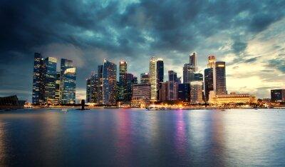 Fototapeta Skyline, Singapur