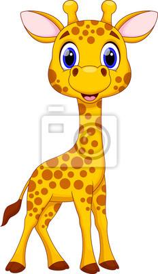 Znalezione obrazy dla zapytania żyrafa obrazek animowany