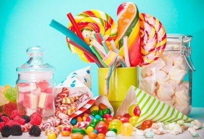 Fototapeta Słodki, cukru, torby.