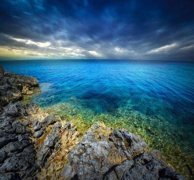 Fototapeta słońca i morza