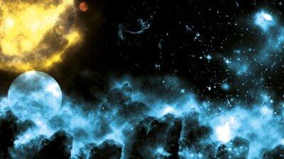 Fototapeta Słońce / Galaxy Spacefog