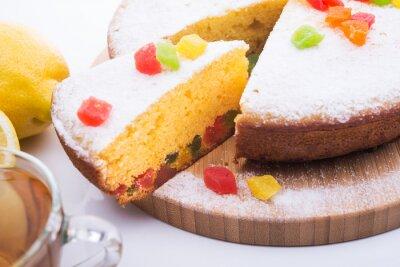 Fototapeta Smaczne ciasto z jujube