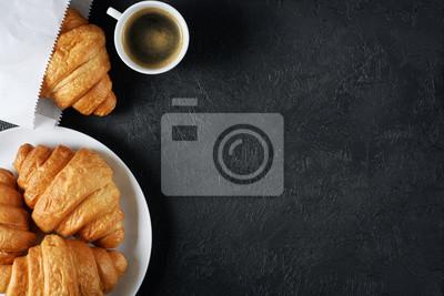 Fototapeta Śniadanie leżało płasko.