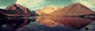 Fototapeta Snow Mountain Lake