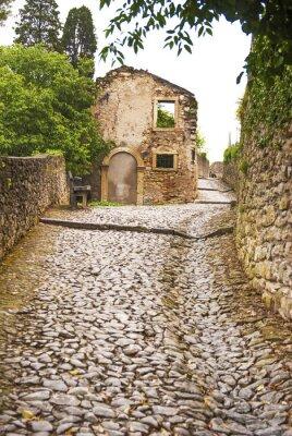 Fototapeta Soave, Strada Al Castello.