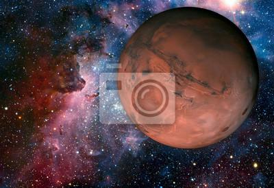 Fototapeta Solar System - Mars. Jest to czwarta planeta od Słońca
