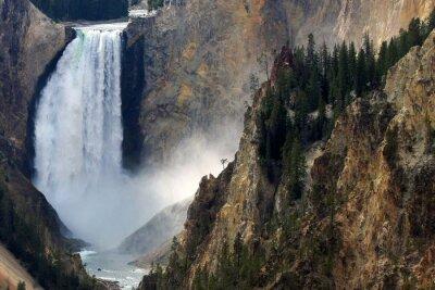 Fototapeta Spadek Yellowstone