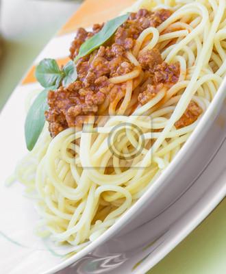 Fototapeta Spaghetti bolognes
