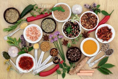 Fototapeta Spice and Herb Collection