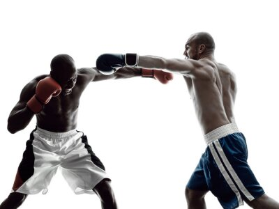 Fototapeta Spodnie męskie boks pojedyncze sylwetka