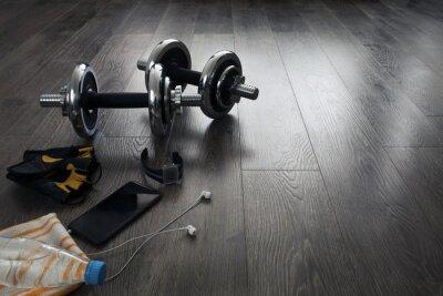 Fototapeta Sprzęt do fitness