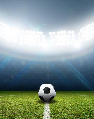 Fototapeta Stadium I piłka nożna