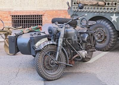Stare Bmw R75 750 Cc 1942 Ii Wojny światowej Ery Niemiecki