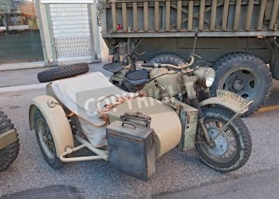 Stare Bmw R75 750 Cc 1943 Ii Wojna światowa Era Motocykla