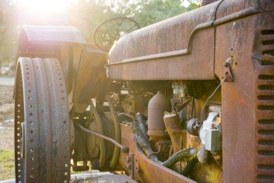 Fototapeta Stare ciągniki rolnicze