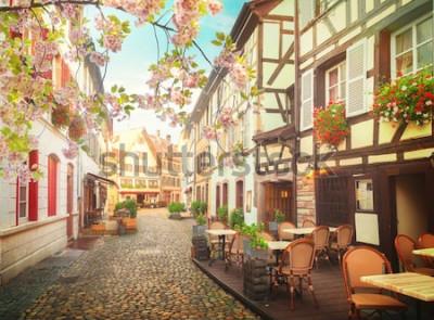 Fototapeta stare miasto Strasburg, Francja