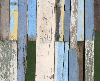 Fototapeta Stare ogrodzenia drewna