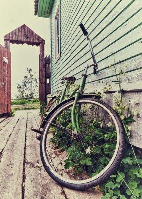 Fototapeta Stare retro rower.