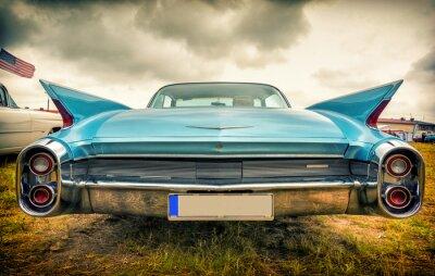 Fototapeta Stary amerykański samochód w stylu vintage