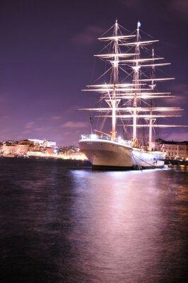 Fototapeta statek