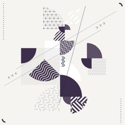 Fototapeta Streszczenie geometrycznej kompozycji